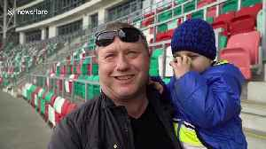 Belarusian football league still attracting crowds despite COVID-19 pandemic [Video]