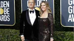 Tom Hanks And Rita Wilson Back In States [Video]