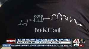 T-shirt proceeds go toward grocery gift cards [Video]