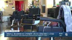 G's Barber Shop closes it's doors following Mayor Romero's recommendation [Video]