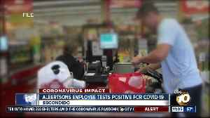 Grocery employee tests positive for COVID 19 [Video]
