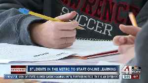 Students in the metro to start online learning [Video]