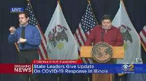 Illinois Announces 1,105 New Coronavirus Cases [Video]