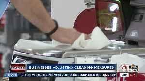 Businesses adjust cleaning measures amid coronavirus pandemic [Video]