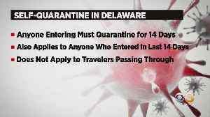 Delaware Gov. John Carney Orders Out-Of-State Travelers To Self-Quarantine For 2 Weeks [Video]