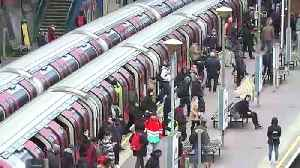 London Underground busy despite lockdown [Video]