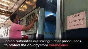 Train carriages converted into coronavirus isolation units [Video]