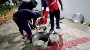 Amid coronavirus lockdown, good samaritans feed stray animals in eastern India [Video]