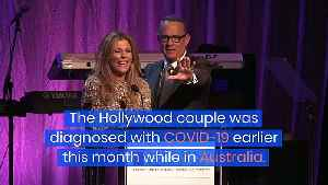 Tom Hanks and Rita Wilson to Continue 'Sheltering in Place and Social Distancing' [Video]