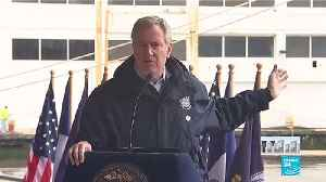 US Navy Ship arrives in NYC to offer Coronavirus relief
