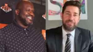 John Krasinski Spreads 'Some Good News,' Shaquille O'Neal Defends 'Tiger King' Appearance & More | THR News [Video]