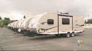 Coronavirus Update: Santa Clara County Prepares Trailers For Homeless To Self-Isolate [Video]