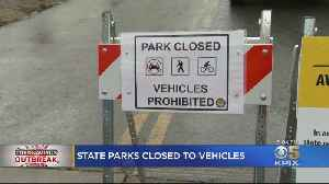 After More Crowds, All California Parks Closed To Vehicles To Enforce Social Distancing [Video]