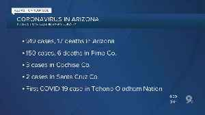 Coronavirus: Latest updates, cases in Arizona [Video]