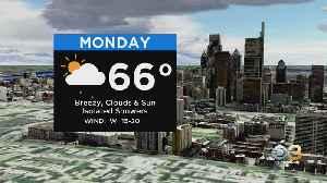 Philadelphia Weather: Breezy Monday [Video]