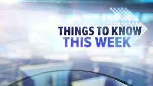 Things to know this week in Las Vegas [Video]