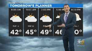 Clouds For Most Of Day Monday [Video]