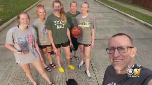 Baylor Basketball Star Lauren Cox & Family Discuss How They're Dealing With COVID-19 [Video]