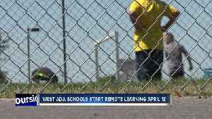 With schools closed by Coronavirus, West Ada announces start date for online learning [Video]