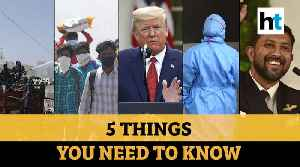 Trump extends curbs, rapid testing in Kerala and more, top 5 stories from HT [Video]