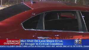 Man Shot On Lake Shore Drive [Video]