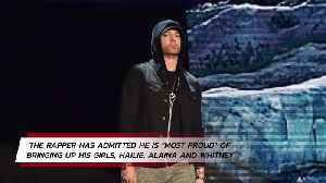 Eminem's proudest achievement is raising his kids [Video]