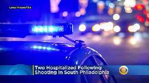 Police: Man, Woman Hospitalized Following Double Shooting In South Philadelphia [Video]