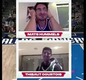 Hummels shows poor defence as Courtois wins NBA esports game [Video]