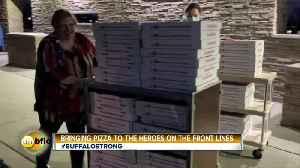 Coronavirus Update and Buffalo Strong Story - Pizza [Video]