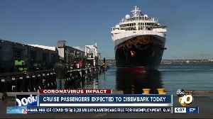 Passengers expected to disembark Monday from cruise ship docked in San Diego [Video]