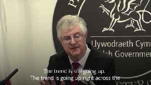 Welsh coronavirus update - 'the trend is still going up' [Video]