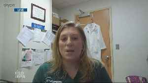 Kelly & Ryan Check in With ICU Nurse Elizabeth Douglas [Video]