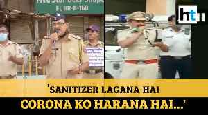 'Sanitizer lagana hai..': How cops are spreading awareness through songs [Video]
