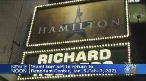 'Hamilton' To Return To Pittsburgh Next Year [Video]