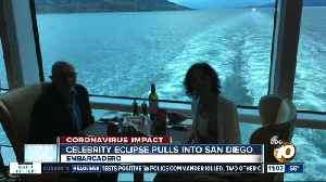Celebrity Eclipse cruise ships arrives in San Diego [Video]