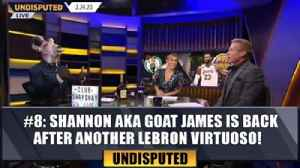 #8 Shannon aka GOAT James is back after another LeBron virtuoso! | Top 10 moments of the Year [Video]