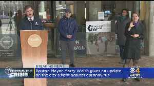 Boston Mayor Marty Walsh Gives Update On Coronavirus Response [Video]
