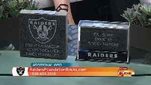 Cement Your Legacy With The Las Vegas Raiders [Video]