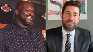 John Krasinski Spreads 'Some Good News,' Shaquille O'Neal Defends 'Tiger King' Appearance & More | THR News [Video]