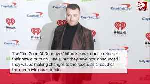 Sam Smith renaming and delaying upcoming album [Video]