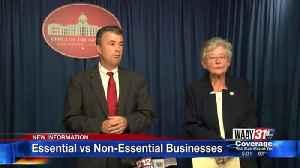 Essential vs Non-Essential Businesses [Video]