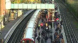 North Acton station busy for second day running [Video]