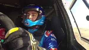 Fernando Alonso - Toyota Hilux Dakar - test [Video]