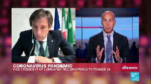 """Coronavirus pandemic: """"The growth of the virus is slowing down"""", Vice president of Lombardy tells FRANCE24 [Video]"""