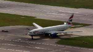 Peru repatriation flight lands at Gatwick [Video]