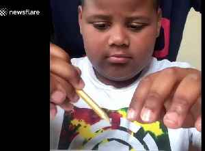 US father homeschooling son with autism during coronavirus has 'never been so proud' [Video]