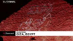 Messages of support for health workers displayed on Egyptian pyramid [Video]