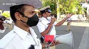 Thespian cops in India act out the dangers of coronavirus [Video]