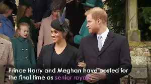 Prince Harry and Meghan's final Instagram post [Video]