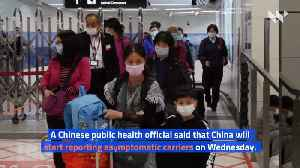 China's Count Did Not Include Coronavirus Patients With No Symptoms [Video]